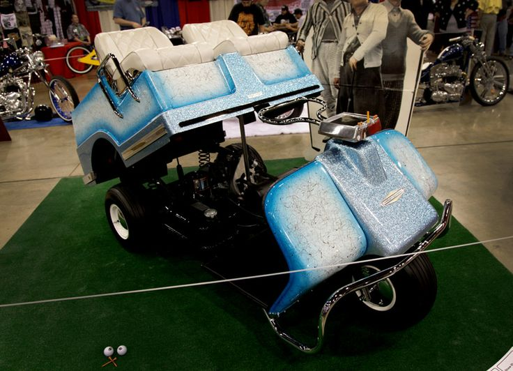 Old Harley Davidson Brand Golf Cart Other Pictures And