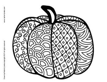 FREE Pumpkins to Color! Great for Halloween or Anytime in Autumn!
