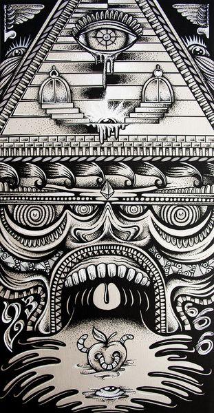 Illuminati Art Print by Mike Friedrich