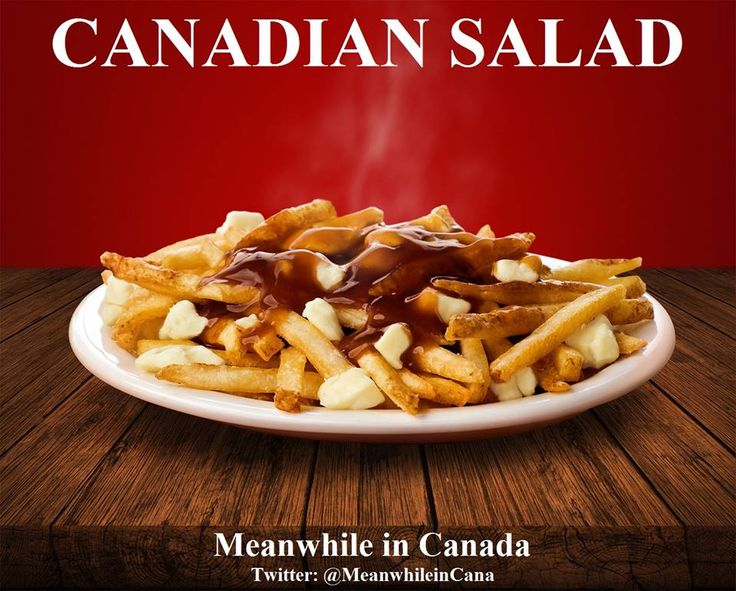 More like French Canadian Salad.