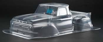 CKRC Hobbies has PRO3408-00 - Pro-Line 1966 Ford F-100 Clear Body Slash 4x4 SCX-10 3408-00 åÊ åÊ åÊ FEATURES Fits the Team Associated 2WD SC10, Traxxas Slash, and Slash 4x4 (all require Extended Body
