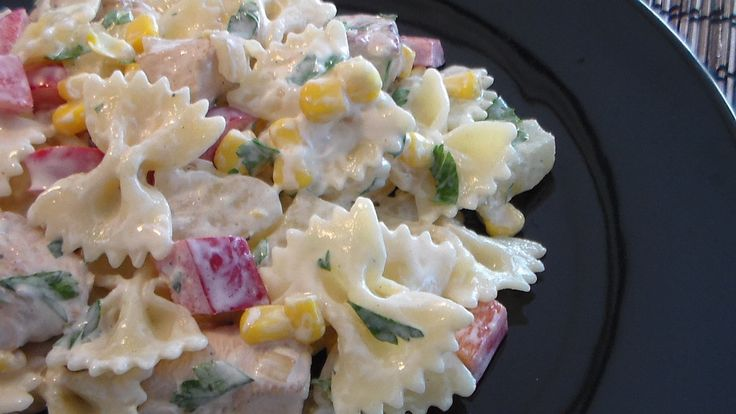 Chicken Pineapple Salad  - (Salatka Z Ananasemi Kurczakiem)   Of all the salads that I have made, this one has to be one of my favorite ones. Now Girlfriend is Polish and of course she was the one that showe