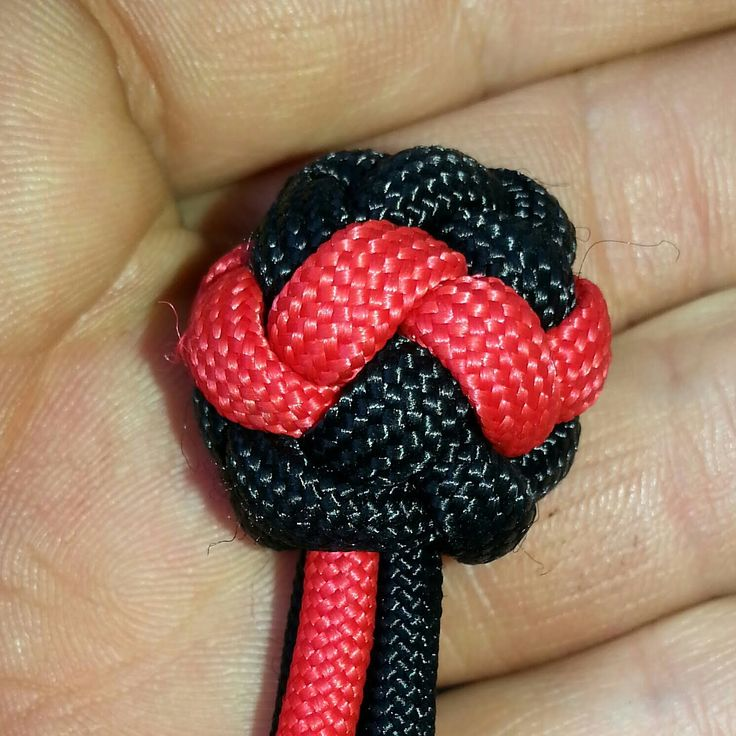 How To Tie A Pineapple Button Knot