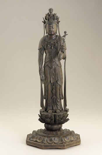 Kannon, Heian Period, Wood, late 12th century Japan