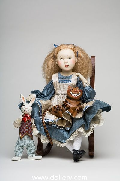 Alice in Wonderland Original Artist Dolls At the Dollery