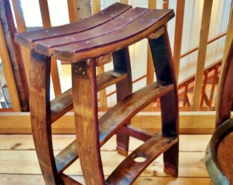 Wine Barrel Bar Stools Special Price by ByGordonLiving on Etsy