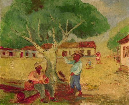 Anita Catarina Malfatti (December 2, 1889 – November 6, 1964) is heralded as the first Brazilian artist to introduce European and American forms of Modernism to Brazil.