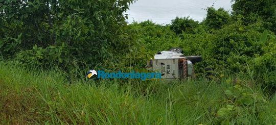 #Rabecão capota na BR-364 durante transporte de cadáver - Jornal Rondoniagora: Jornal Rondoniagora Rabecão capota na BR-364 durante…