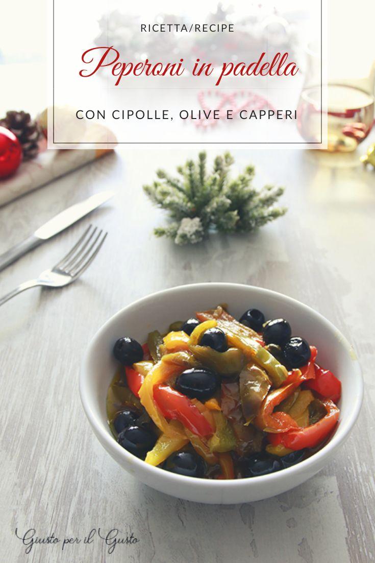Peperoni in padella le ricette degli amici foodbloggers for Ricette cibo
