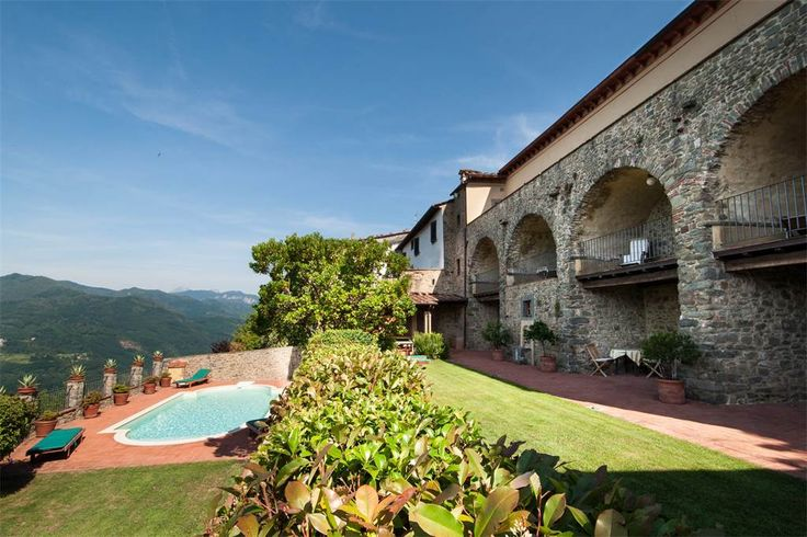 Timeless property with view Lugliano Bagni Di Lucca, Lucca, Italy – Luxury Home For Sale
