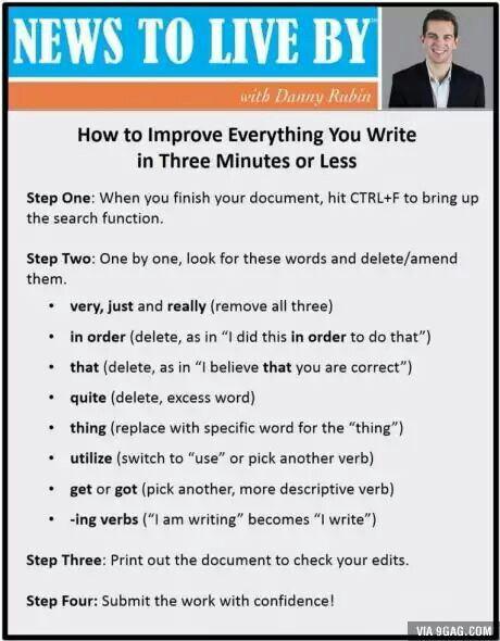 Förbättra skrivande