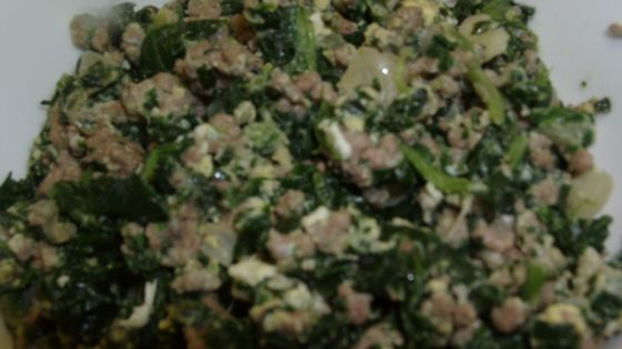 Joe S Special Ground Beef Spinach Eggs Recipe Food Com Recipe Ground Beef And Spinach Spinach Recipes Healthy Beef Spinach Recipe