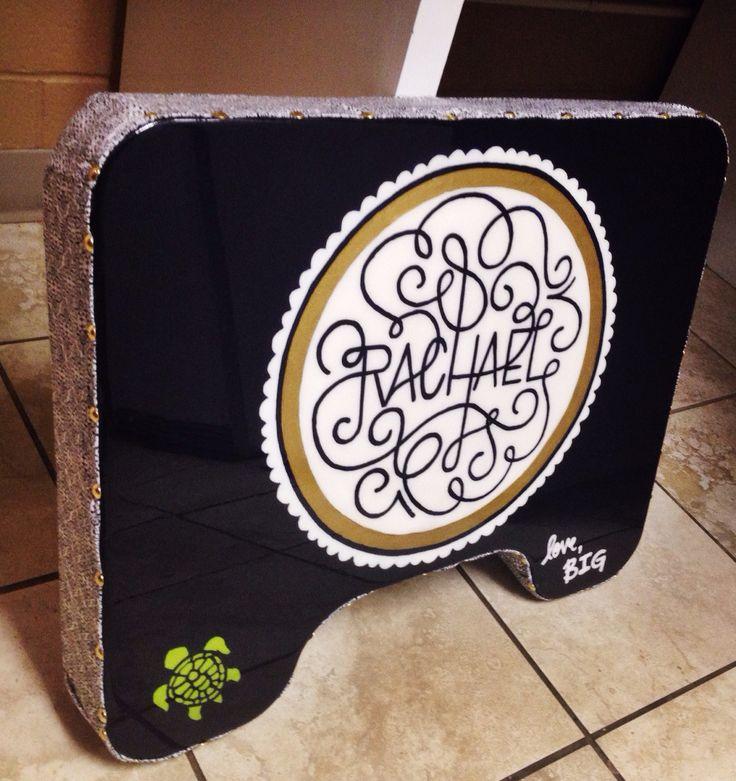 sorority big little gift idea study board lap desk #sorority #gift #little
