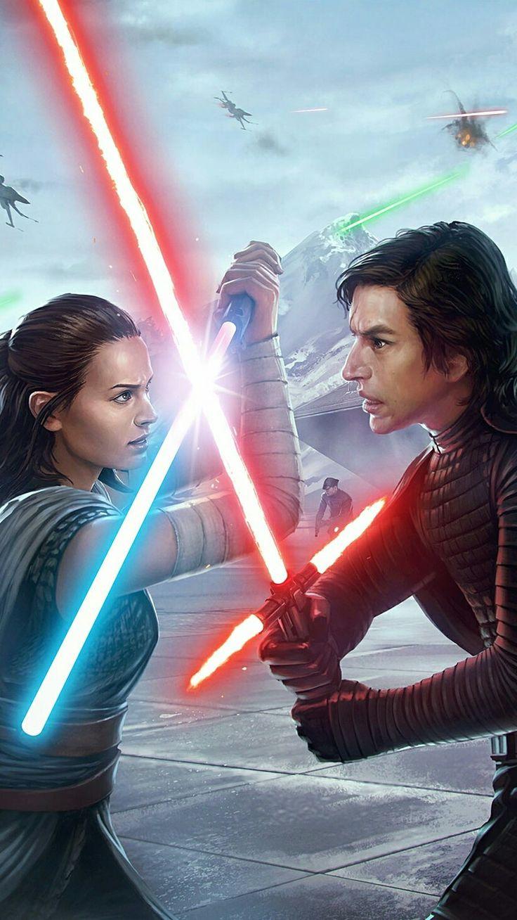 Kylo Ren vs Rey Star Wars Force Arena #starwars