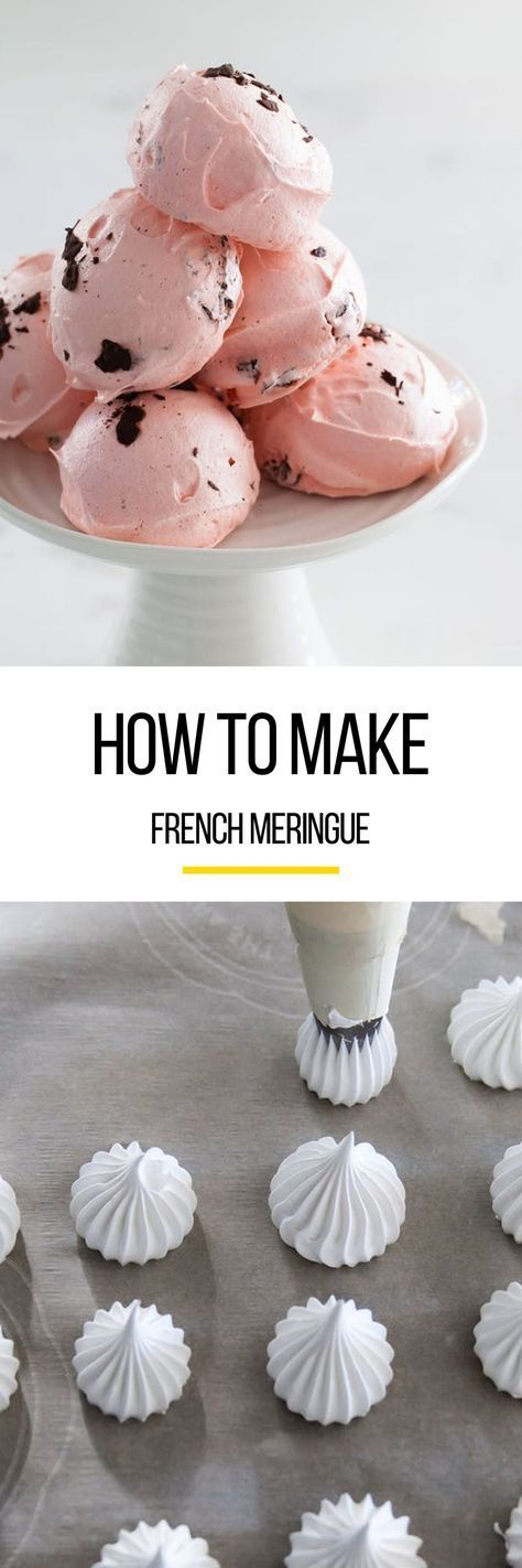 So simple and pure, meringue makes for the lightest, almost cloud-like cookies and pastries. Whether you're chocolate or vanilla, these cookies are easy-made delicious