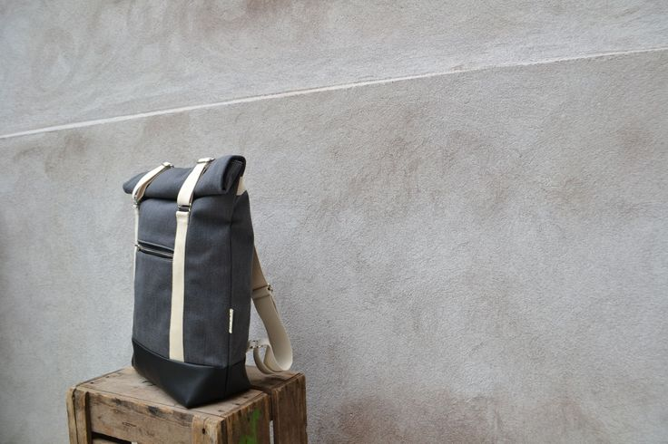 AHTI-reppu, harmaa (valkoinen) | Weecos