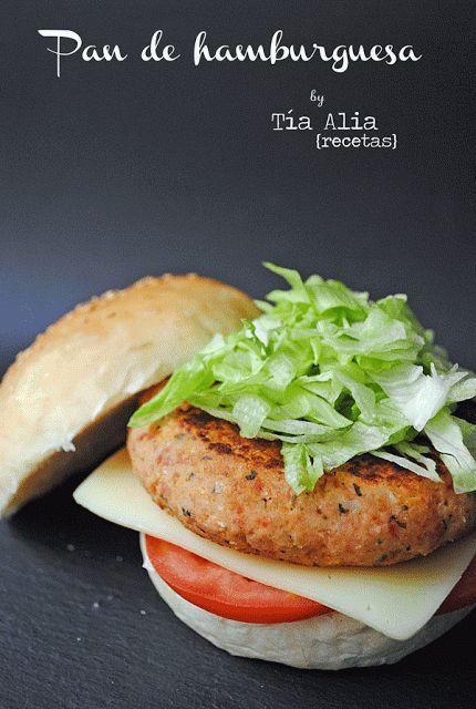 Pan de hamburguesa en Thermomix - Tía Alia Recetas