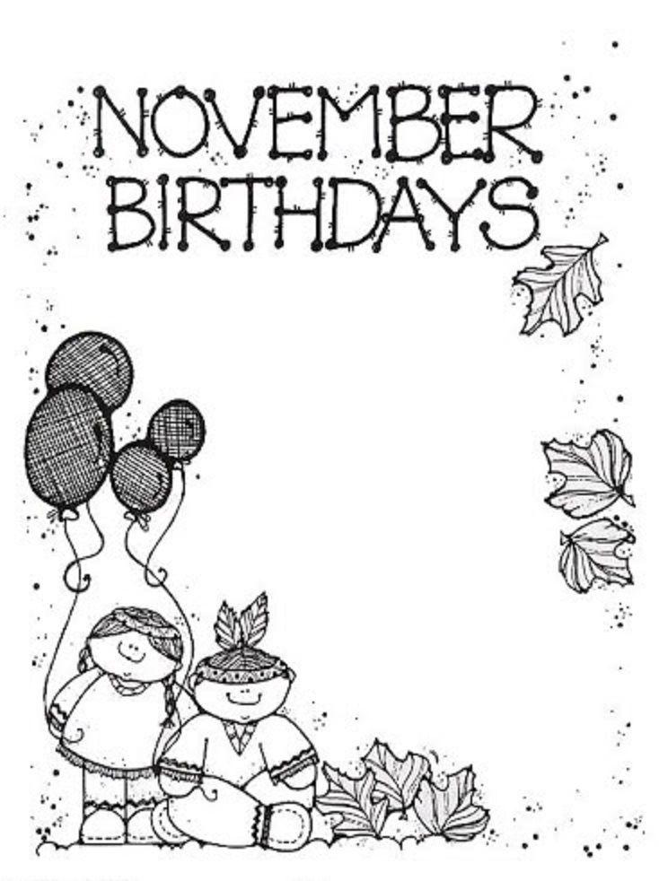 * November Birthday!