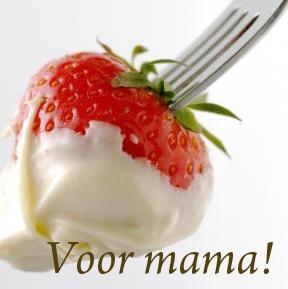 Moederdag, Witte Chocoladetaart met Aardbeien! www.tuinhuisschipluiden.nl