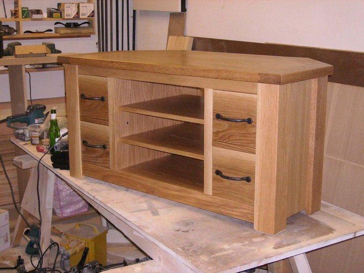 1000 ideas about tv stand corner on pinterest corner tv wood corner tv stand and custom. Black Bedroom Furniture Sets. Home Design Ideas