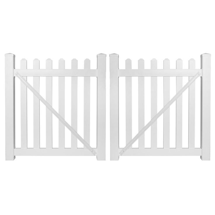 1000 Ideas About Vinyl Picket Fence On Pinterest Brick
