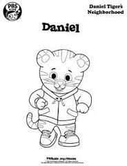 1000 images about daniel tiger birthday on pinterest for Daniel tiger coloring pages