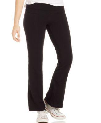 Material Girl Active Juniors' Bootcut Yoga Pants
