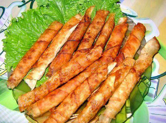 Самые вкусные рецепты: Закусочные рулетики из армянского лаваша
