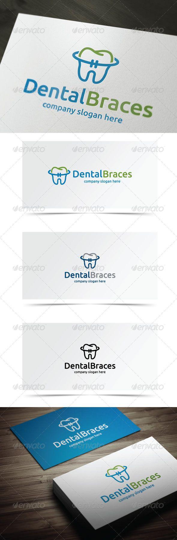 Dental Braces - Objects Logo Templates