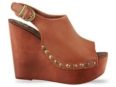 brown studded wedges: Jeffrey Campbell Shoes, Wedges Heels, Jeffrey Campbell Snick, Campbell Snick Std, Campbellsnick Std, Brown Wedges, Jeffrey Campbellsnick, Fall Wedges, Chunky Heels