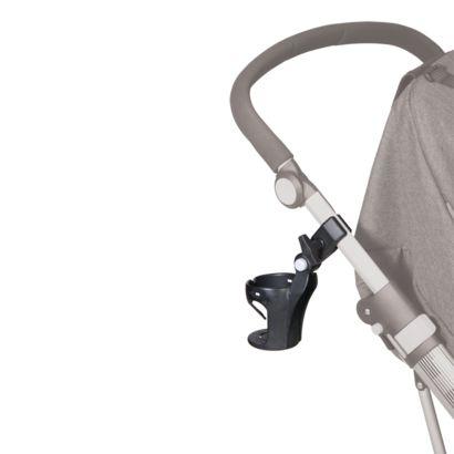 Praktisk kopholder, der kan knyttes til alle typer af barnevogne, kombivogne og klapvogne. Eks. til 149 DKK.