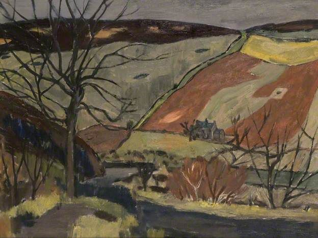 Border Landscape. William Gillies