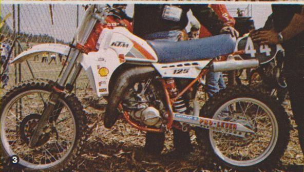 Andreani KTM 125cc. 1983
