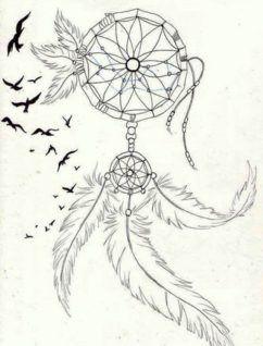 Atrapasueños Dibujos Lapiz Bocetos Diseños 5 Tatoo Pinterest