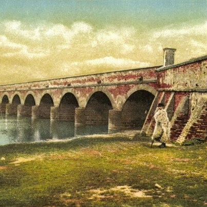 The Nine Holed Bridge (Hungarian Kilenclyukú híd) is the most identifiable symbol of the Hortobágy, Hungary's great plain