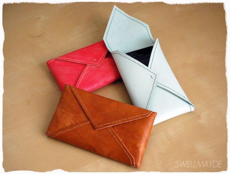 diy | envelope cell phone case