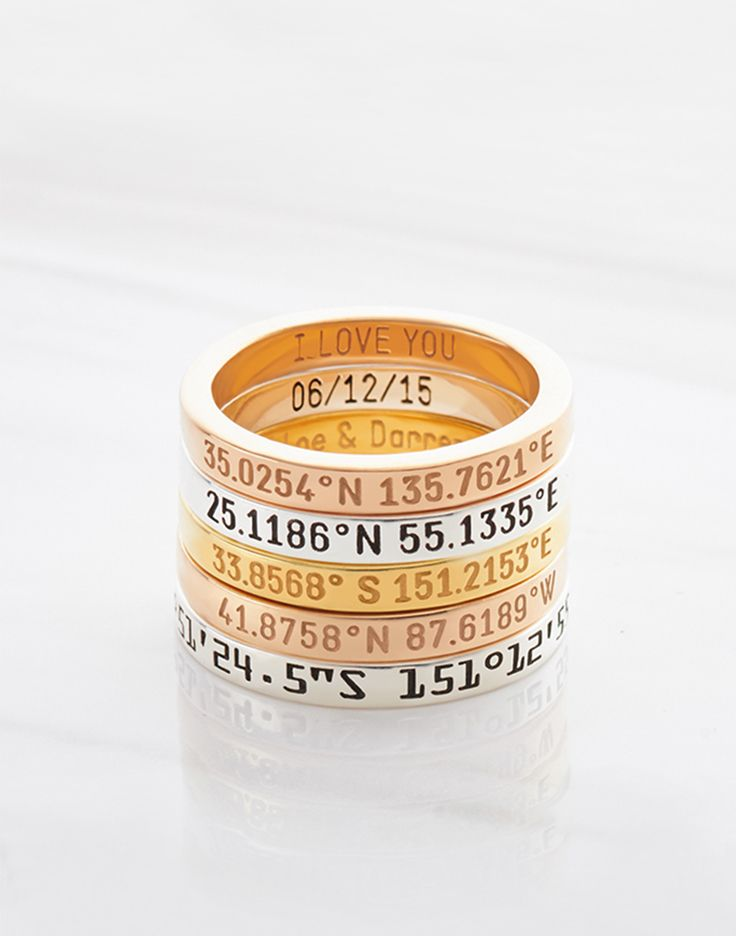 coordinate rings for men • coordinate rings for her • Engraved coordinates ring • Custom coordinates ring • Rings with coordinates • Gold coordinates ring • Silver coordinates ring • Engraved coordinates ring • Anniversary gift for her • College graduation gifts • Personalized bridesmaid gifts • graduation wishes • high school graduation gifts for her • graduation gift ideas • graduation presents • going away present • going away presents