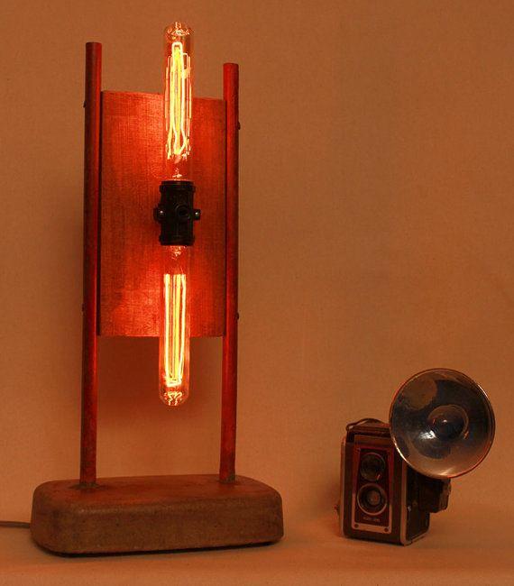 Best 25+ Edison lamp ideas on Pinterest | Wood desk lamp ...