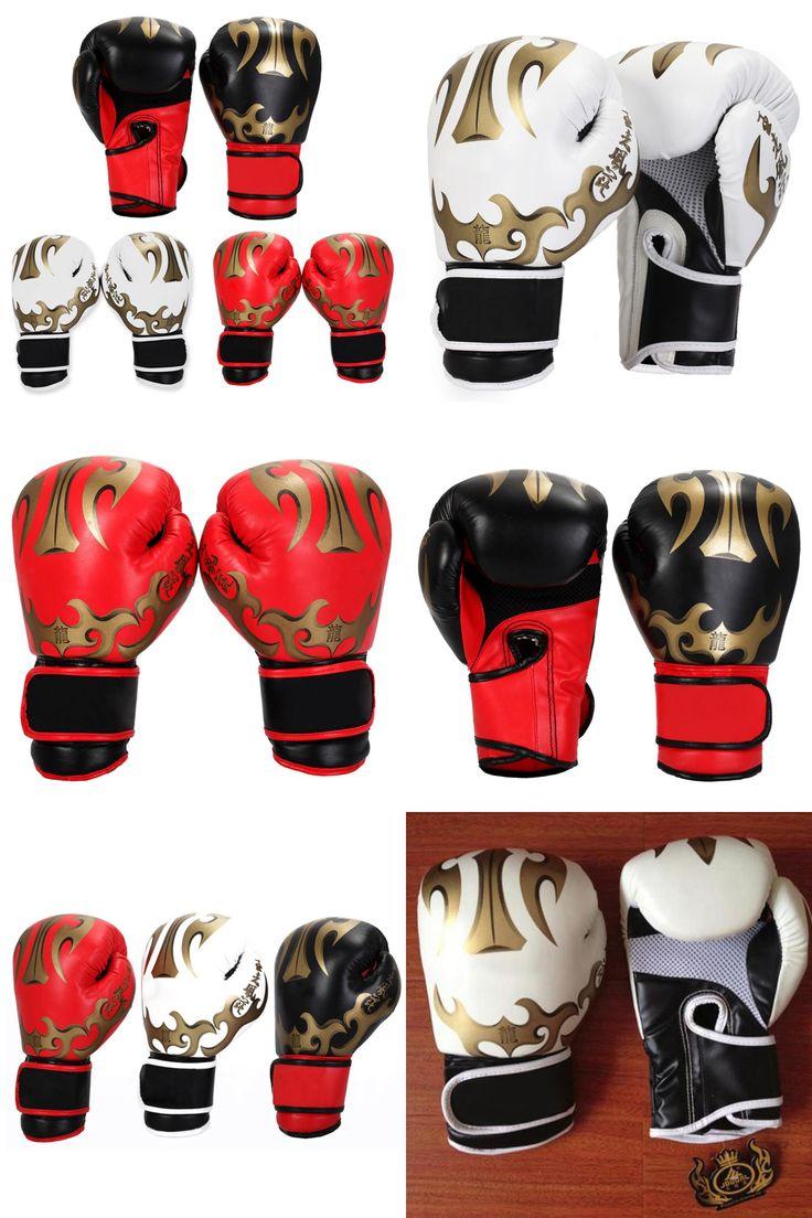 [Visit to Buy] New MMA Boxing Gloves Men/Women Sandbag/Taekwondo/Muay Thai/Fight/Boxe De Luva Training Sports Equipments guantes de boxeo #Advertisement