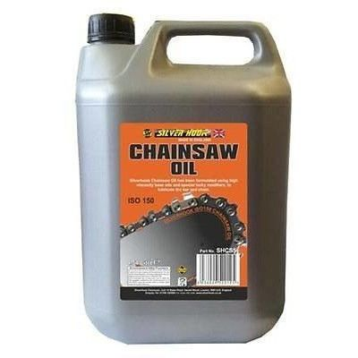 Silverhook Low Fling Heavy Duty Chainsaw Oil ISO 150 For All Chainsaws 4.54L