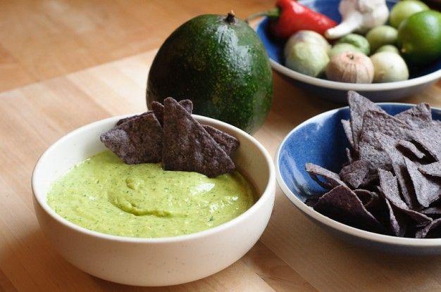Avocado and Tomatillo Salsa