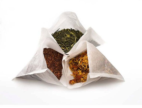 Empty Tea Bags Heat & Seal small size by ScentsibleCrafts on Etsy