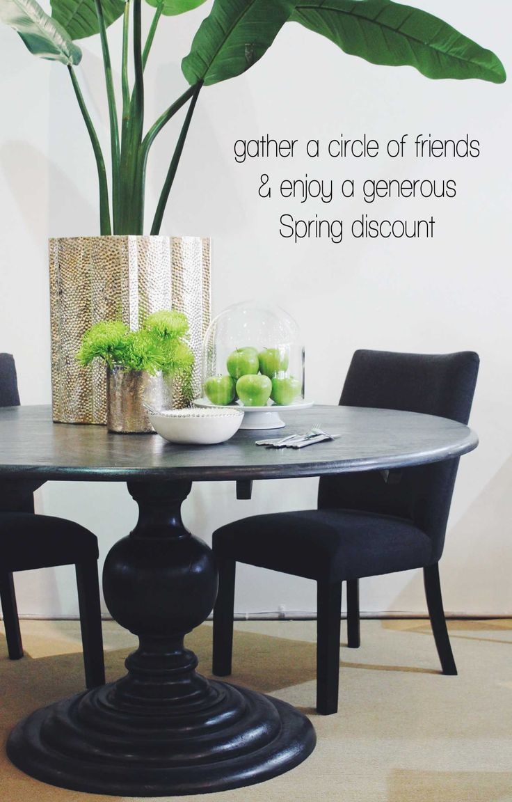 Spring is just around the corner to celebrate the end of for Just dining tables