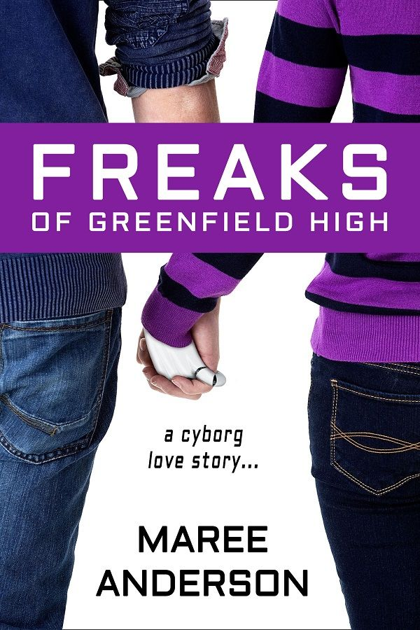 Freaks of Greenfield High cover makeover (June 2014) http://www.mareeanderson.com/books/freaks-of-greenfield-high