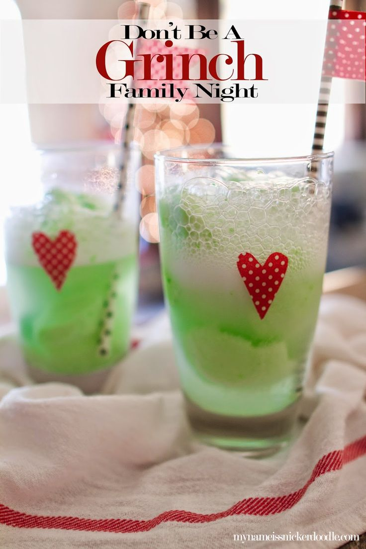 Don't Be A Grinch! Super fun ideas for a family night that will make your heart grow two sizes bigger! Perfect for Christmas time. | My Name Is Snickerdoodle