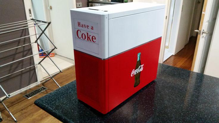 Coca Cola PC Case Back