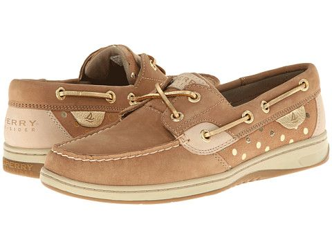 Sperry Top-Sider Bluefish 2-Eye Linen/Gold Metallic Dot - Zappos.com Free Shipping BOTH Ways