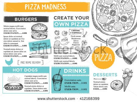 Image Result For Kids Menu Designs  Kids Menu Templates