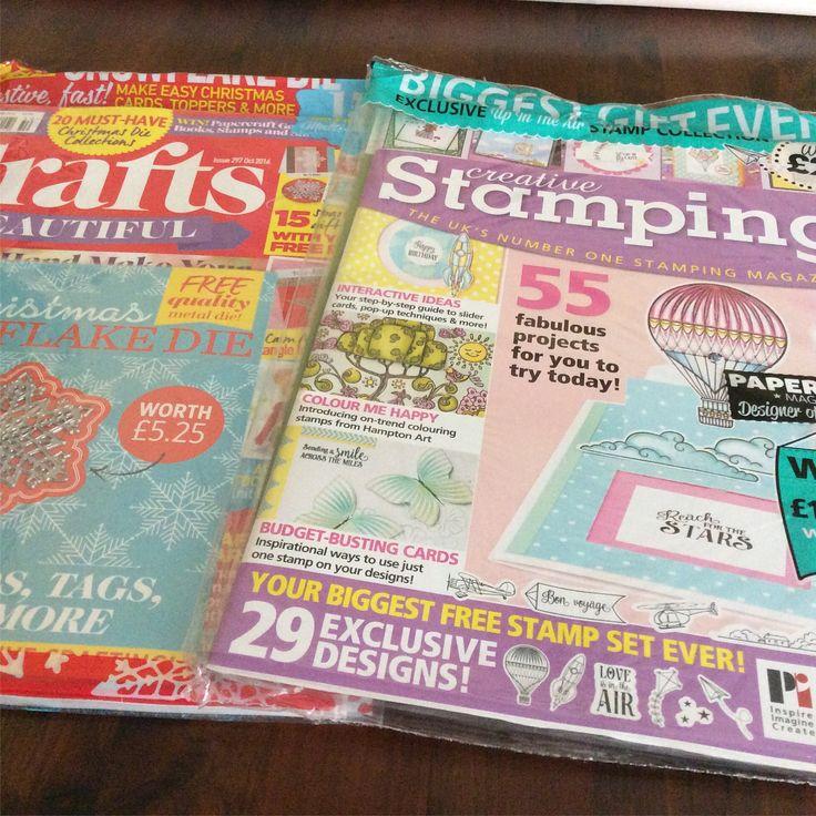 #shopping #london #magazines #magazine #craftmagazine #craft #paperlover #design #crafting #cardmaking #handmade #paper #paperlover #stamping #momentos #hechoamano #fattoamano #vacanze #vacation #estate #summer