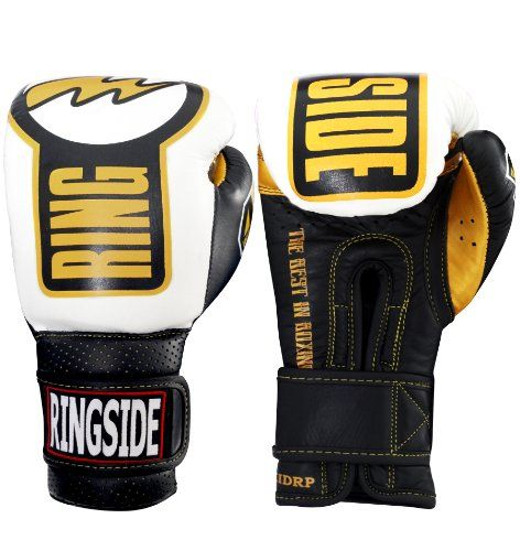 Ringside Youth Safety Sparring Gloves  Made completely of leather  Full wrap-around, hook & loop closure  Complete with an attached thumb